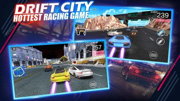 狂野极品城市飙车游戏