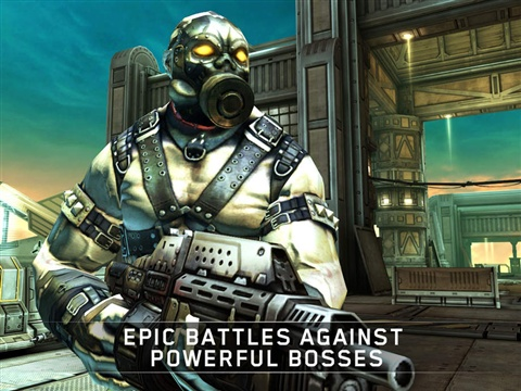 暗影之枪传奇官方版游戏特色图片