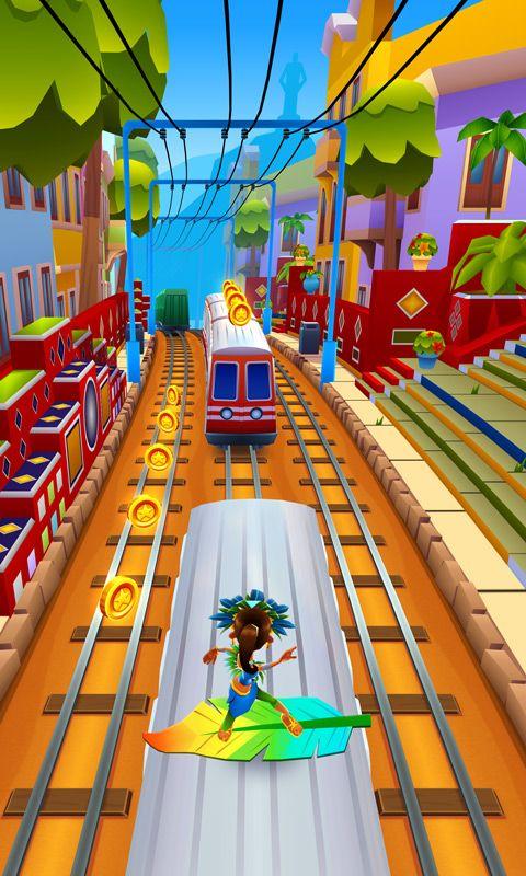 地铁跑酷电玩世界破解版
