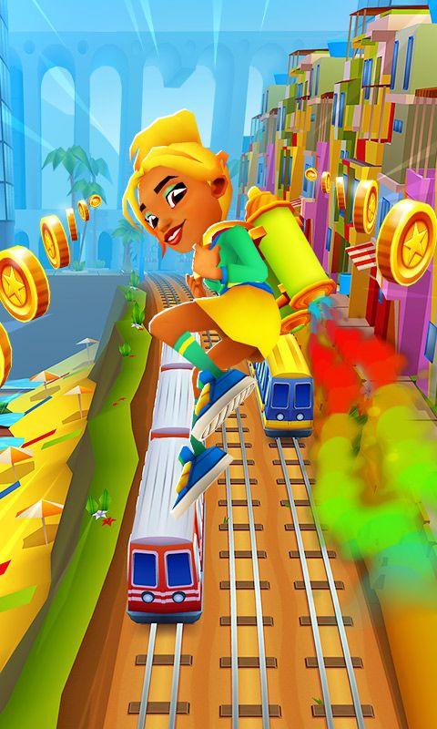 地铁跑酷电玩世界最新内购破解版图片1
